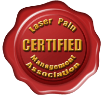 Laser Pain Management Association Certified Seal